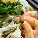 Laksa with Prawns, Chicken & Egg Noodles Recipe