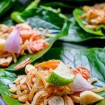 Miang Coconut, Fish, Mint and Pomelo Recipe