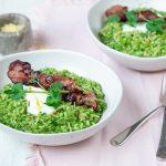 Green risoto