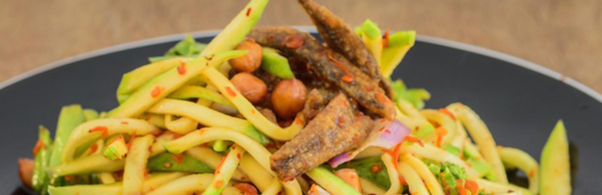 Thai Green Mango Salad Recipe