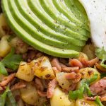 Bacon and Potato Hash