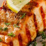 seafood recipes - BBQ Fish and Avocado Oil Sauce