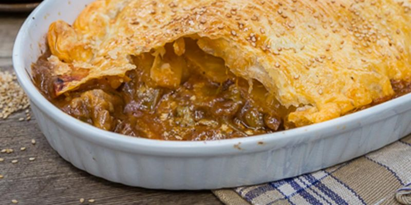 Beef and Blue Cheese Pie