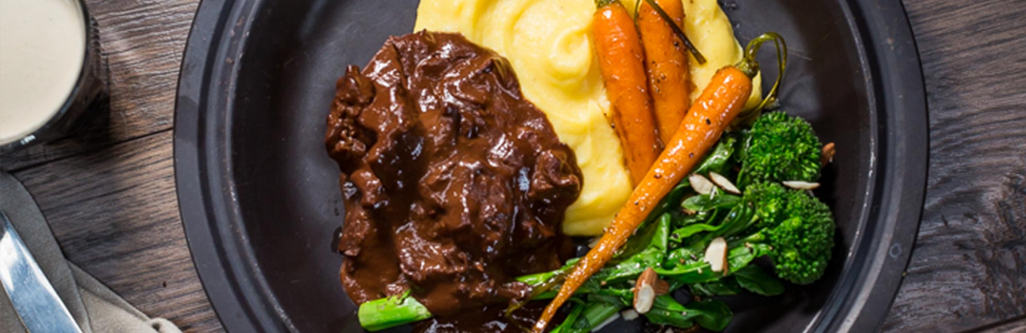 Beef with Guinness and Chocolate