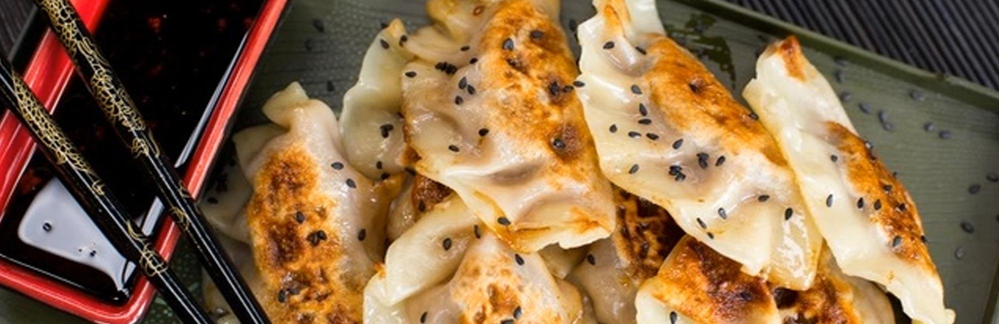 Beef and Mushroom Dumplings