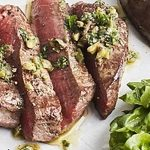 Beef Tenderloins with Mediterranean Salsa