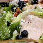 Blueberry and Smoked Chicken Super Salad