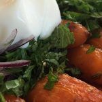 Carrots and Herbs with Labneh