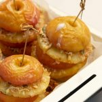 Crunchy Baked Apple & Pineapple stacks