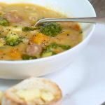 Hearty Vegetable & Chorizo Soup
