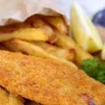 Homemade Fish & Chips with Tartare Sauce