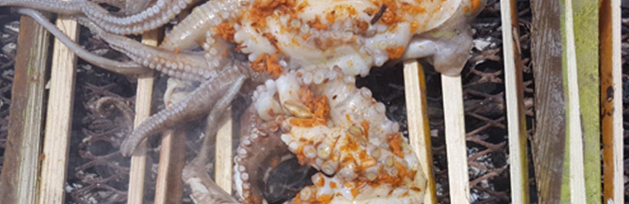 Kenyan BBQ Octopus Recipe