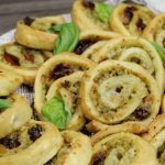 Pesto Pastry Wheels