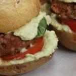 Potato Jacket Mini Burgers