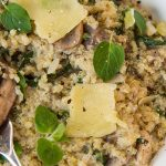 Risotto with Quinoa and Mushrooms