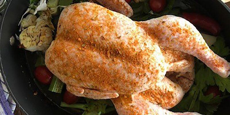 Spiced Roast Chicken