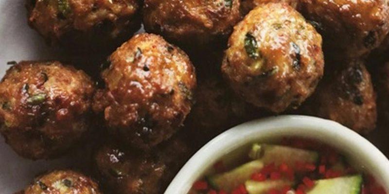 Spicy Thai Pork balls