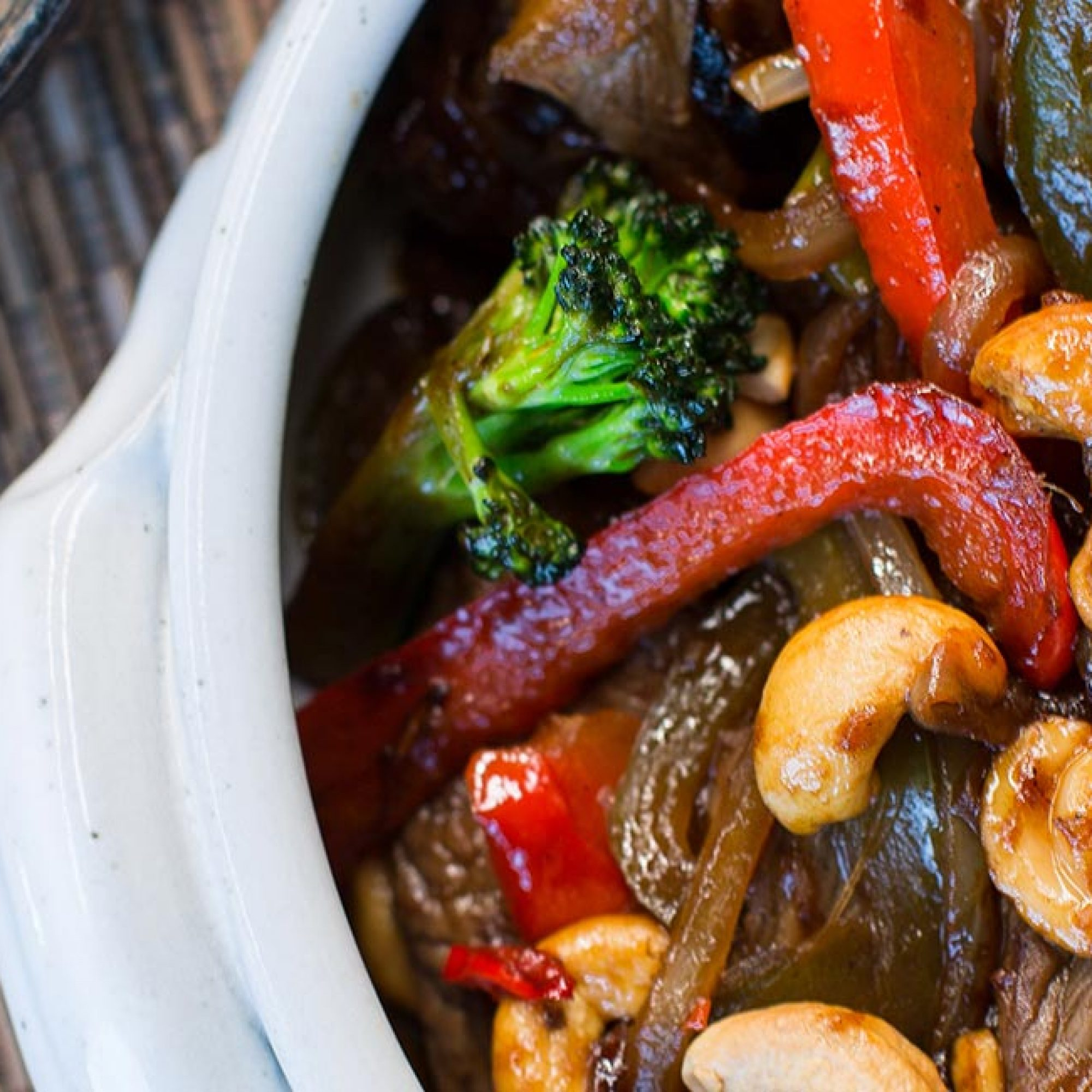 Steak Cashew Stir Fry