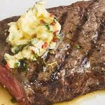 Strip Steaks with Sesame & Chilli butter