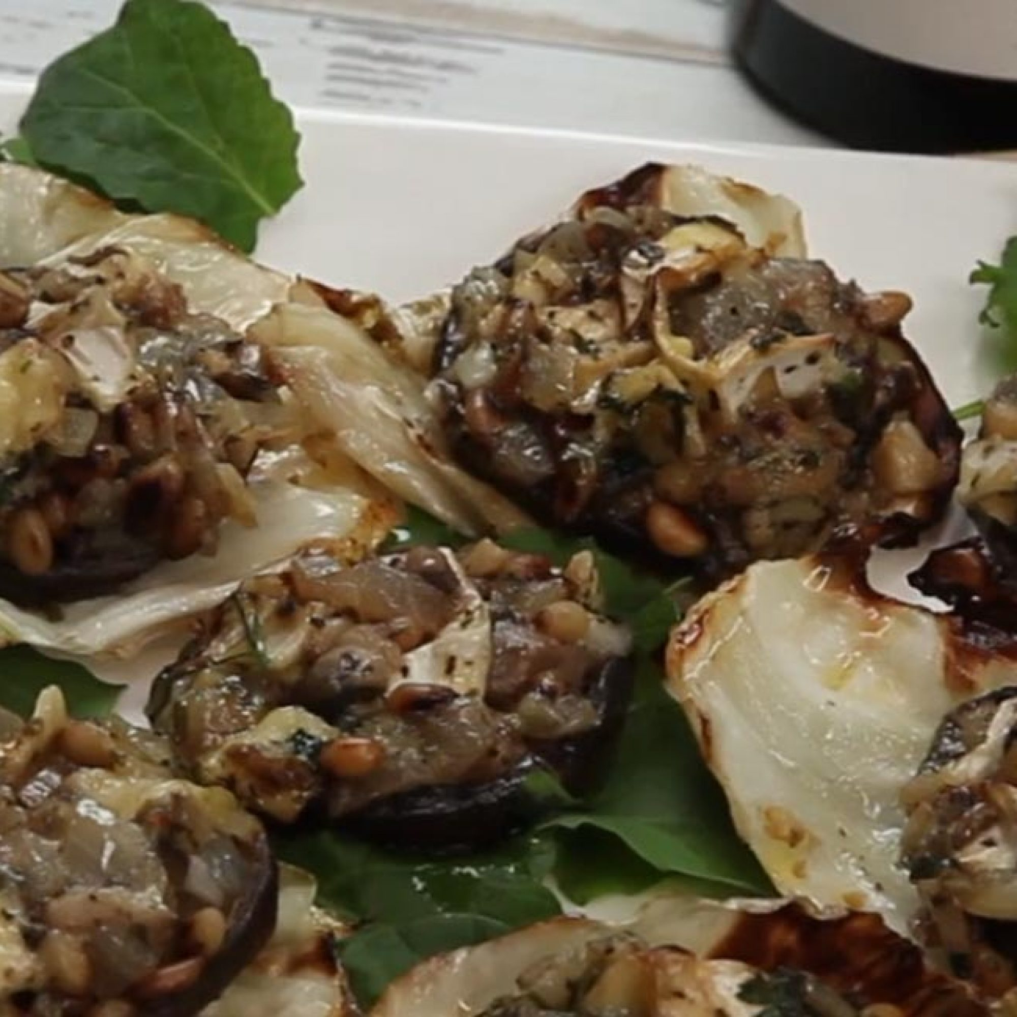 Stuffed Mushrooms with Brie