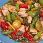 Sweet and Sour Chilli Prawns