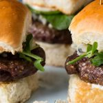 Venison and Blue Cheese Sliders