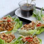 Ginger Honey Tofu Lettuce Cups