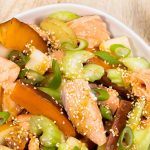 Ponzu Roast Salmon