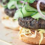 Summer Asian Burger