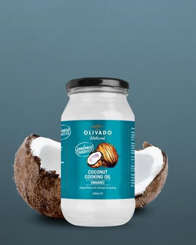 Olivado Coconut Cooking Oil 500ml - Organic