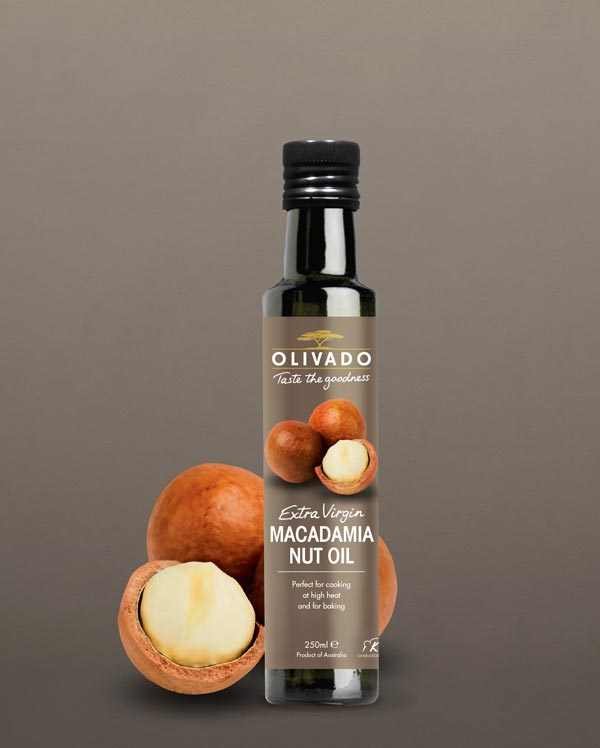 Olivado Macadamia Nut Oil - Extra Virgin