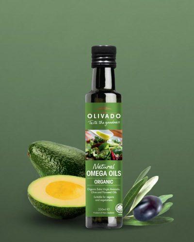 Olivado Omega Oil - Organic