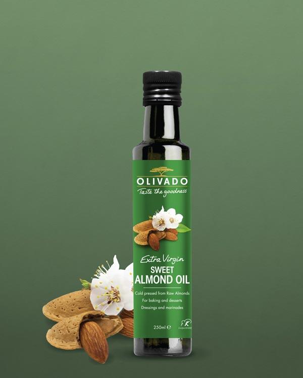 Olivado Sweet Almond Oil - Extra Virgin