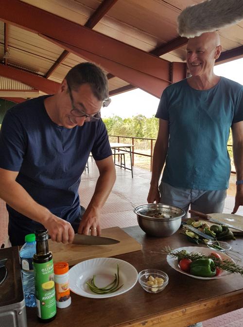 Brett and Gary