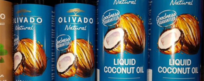 Olivado Liquid Coconut oil