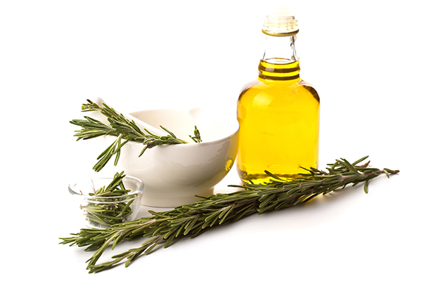 Avocado oil infused with rosemary