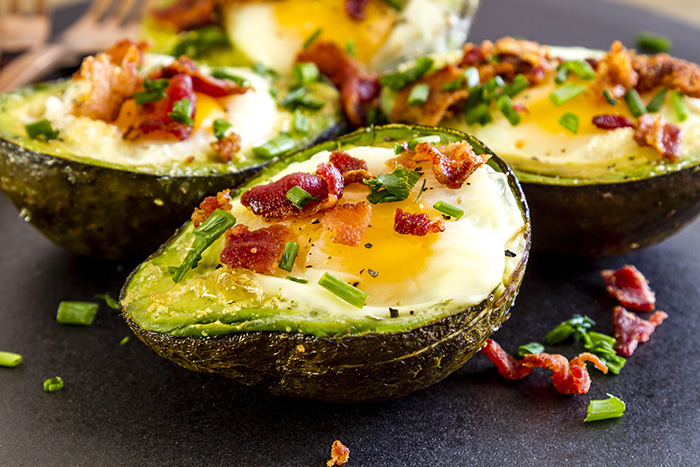 Avocados on the keto diet