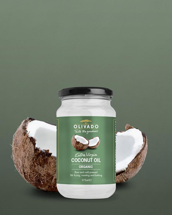 Olivado Coconut Oil 375ml - Extra Virgin