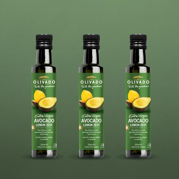 Avocado Oil – Lemon Zest, Extra Virgin: 3 Pack