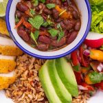 Gluten Free Mexican Chicken Nourish Bowl