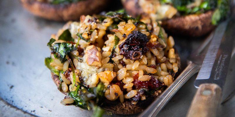 Loaded Portobello Mushrooms Recipe