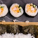 Spicy Prawn Tempura Sushi (Sushi 3 Ways) Recipe