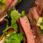 Steak Sandwich with Fresh Kiwifruit Salsa & Lime Chipotle Mayo Recipe
