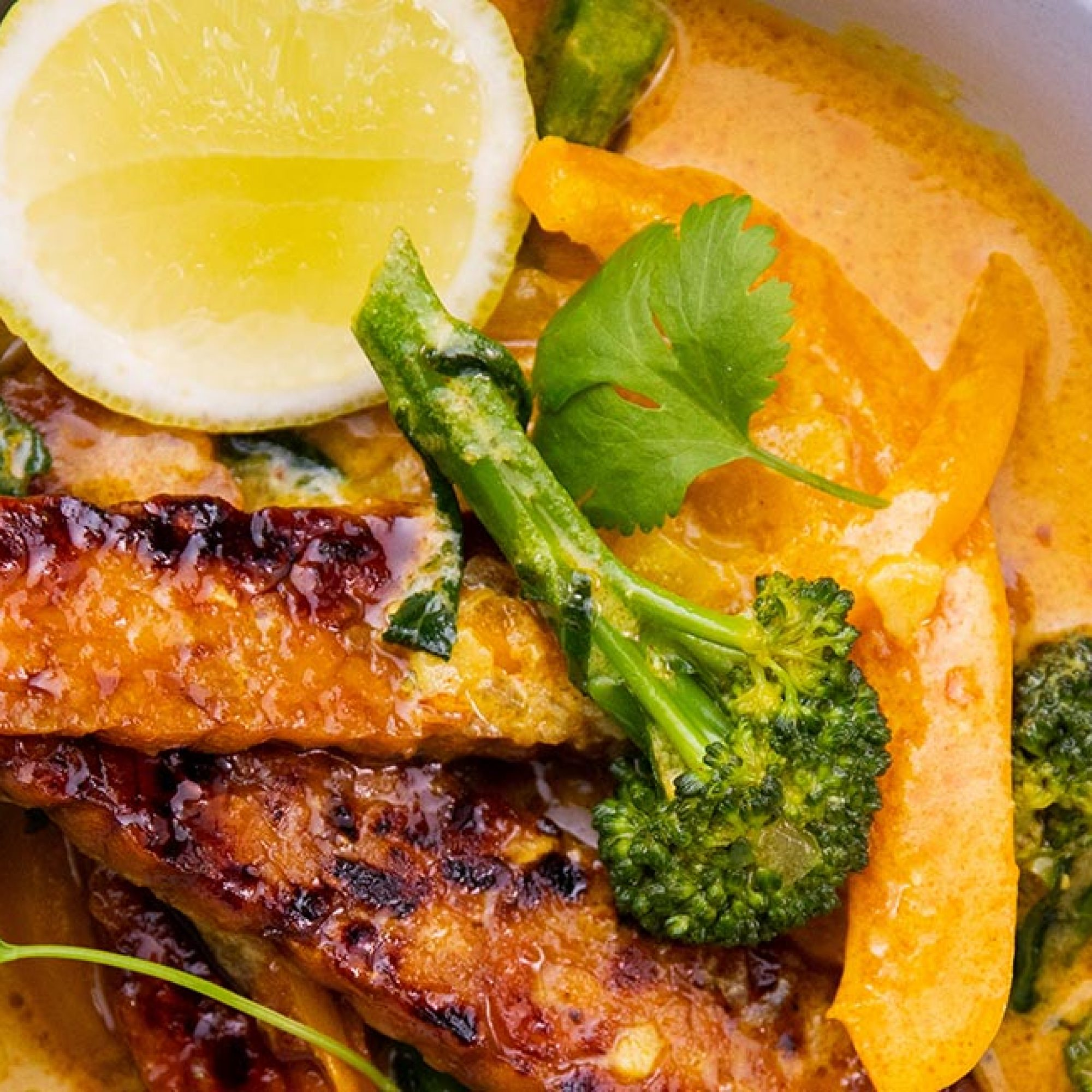 Tempeh Yellow Curry Recipe