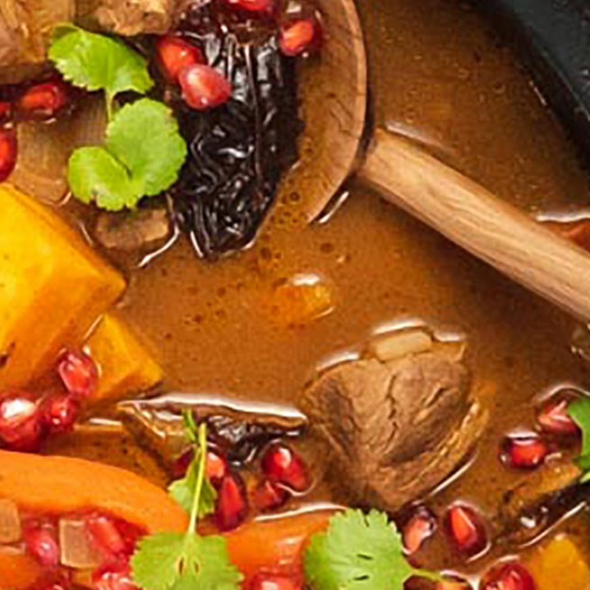 Fragrant Lamb and Date Tagine