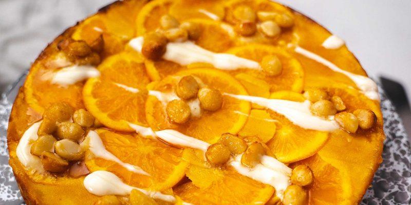 Orange and lemon cake recipe