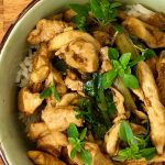 Thai basil with chicken and chilli