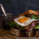 Lamb Bacon & Egg Sandwich With Caramelised Onions Recipe
