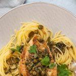 Lemon Chicken Piccata Spaghetti Recipe