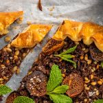Fig, Caramelised Onion & Lamb Galette